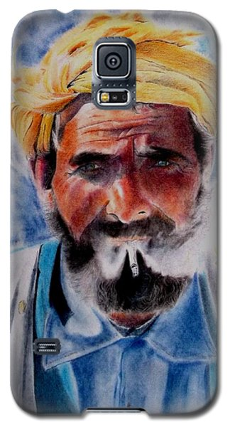 Turkish Smoker In Colour Galaxy S5 Case