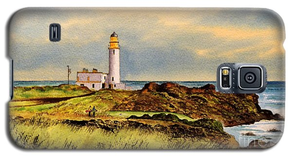 Turnberry Golf Course 9th Tee Galaxy S5 Case