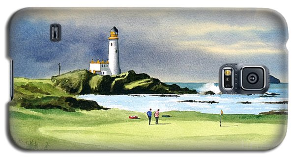 Turnberry Golf Course Scotland 10th Green Galaxy S5 Case