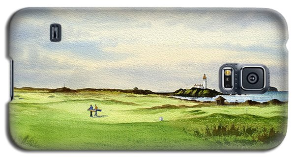 Turnberry Golf Course Scotland 12th Tee Galaxy S5 Case