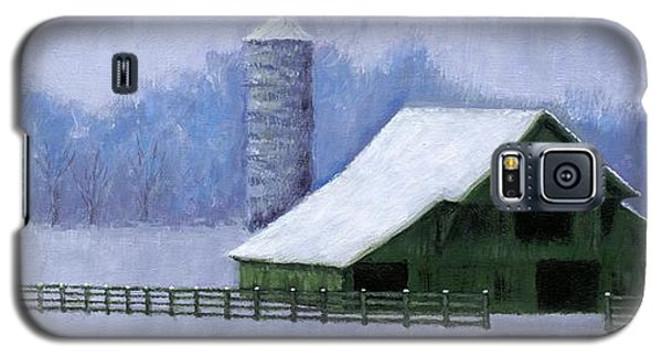 Turner Barn In Brentwood Galaxy S5 Case by Janet King