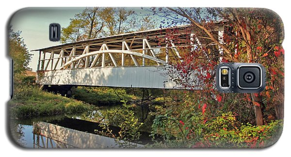 Galaxy S5 Case featuring the photograph Turner's Covered Bridge by Suzanne Stout