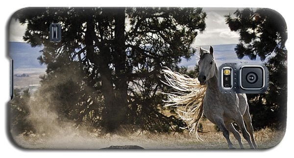 Galaxy S5 Case featuring the photograph Turning On A Dime D3512 by Wes and Dotty Weber