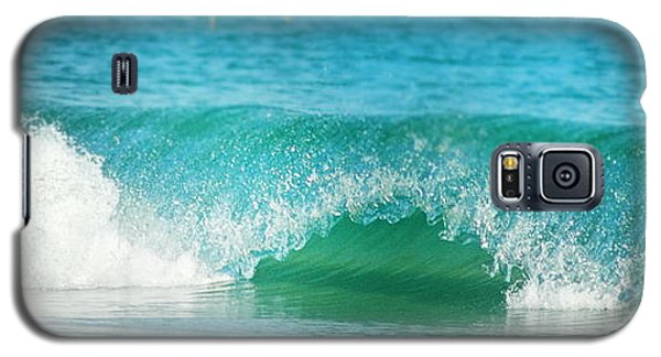 Turquois Waves  Galaxy S5 Case