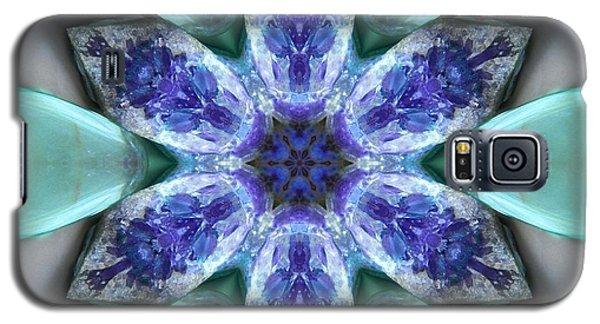 Turquoise Amethyst Star Mandala Galaxy S5 Case