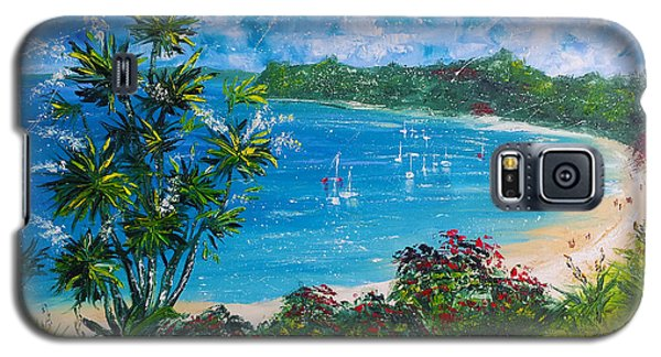 Turquoise Bay On A Sunny Day Galaxy S5 Case
