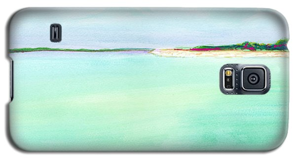 Turquoise Caribbean Beach Horizontal Galaxy S5 Case