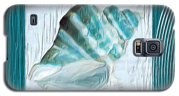 Turquoise Seashells Xxii Galaxy S5 Case