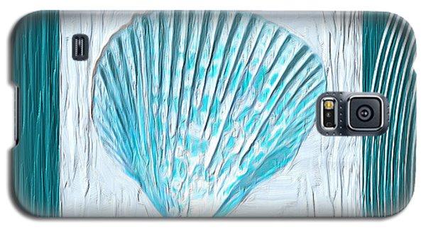 Turquoise Seashells Xxiii Galaxy S5 Case