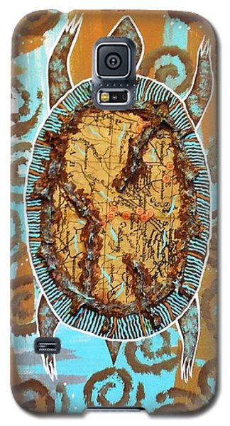 Turtle Journey Galaxy S5 Case