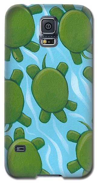 Turtle Nursery Art Galaxy S5 Case by Christy Beckwith