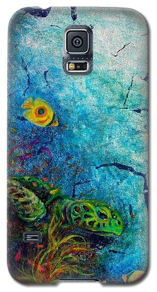 Turtle Wall 1 Galaxy S5 Case