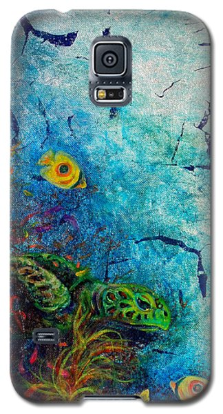 Turtle Wall 1 Galaxy S5 Case