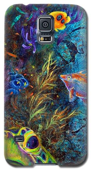 Turtle Wall 3 Galaxy S5 Case