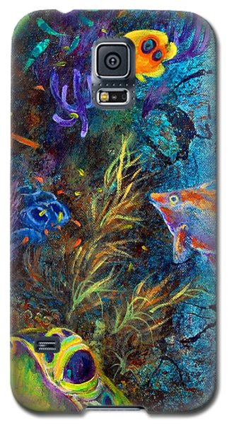 Turtle Wall 3 Galaxy S5 Case