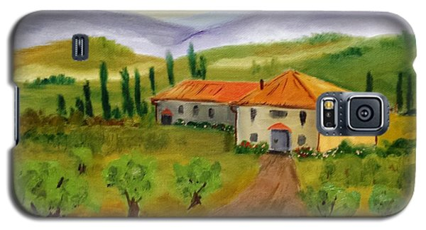 Tuscan Cottage Galaxy S5 Case