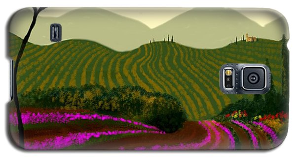 Tuscan Fields Of Color Galaxy S5 Case