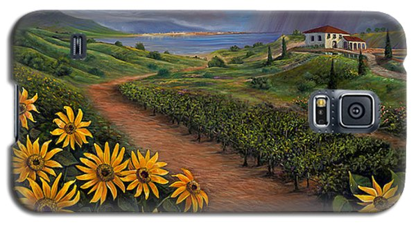 Tuscan Landscape Galaxy S5 Case by Claudia Goodell
