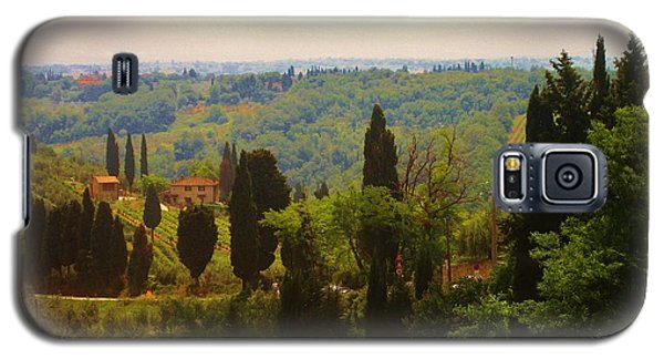 Galaxy S5 Case featuring the photograph Tuscan Landscape by Dany Lison