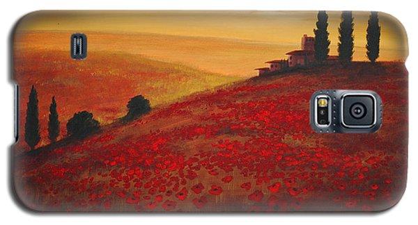 Tuscan Sunset Galaxy S5 Case
