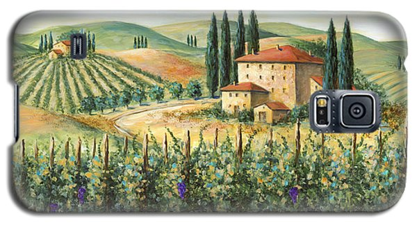 Tuscan Vineyard And Villa Galaxy S5 Case