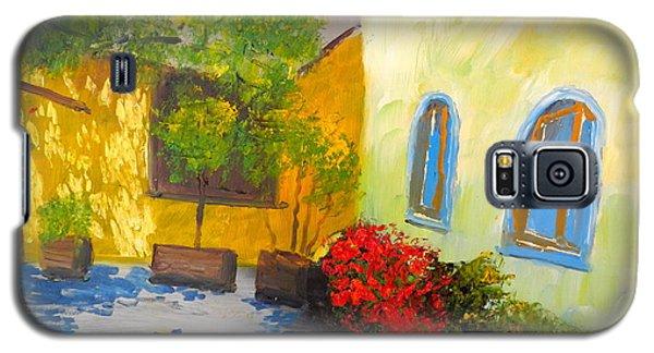 Tuscany Courtyard 2 Galaxy S5 Case