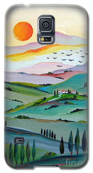 Tuscany Sunset Galaxy S5 Case by Roberto Gagliardi