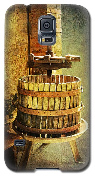 Tuscany Wine Barrel Galaxy S5 Case