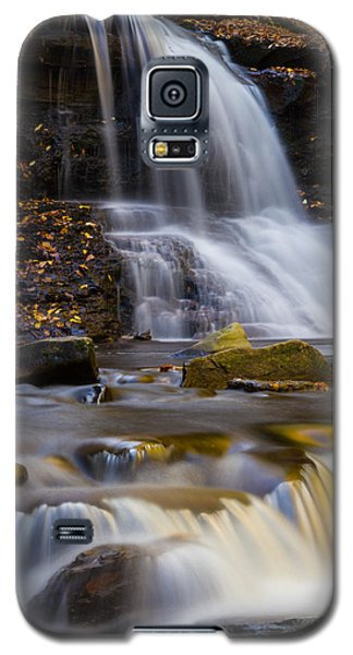 Tuscarora Falls At Ricketts Glen In Autumn Galaxy S5 Case