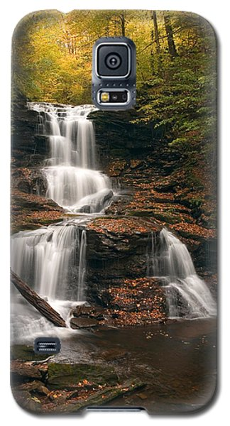 Tuscarora Under Newfallen Leaves Galaxy S5 Case