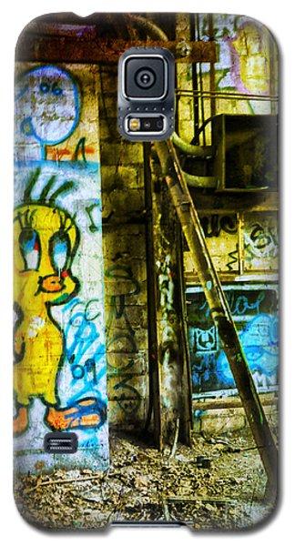 Galaxy S5 Case featuring the photograph Tweety by Debra Fedchin