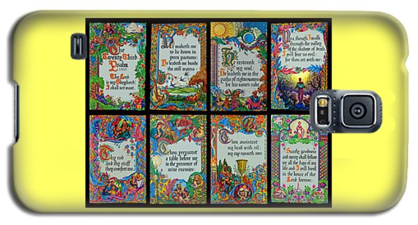 Twenty Third Psalm Collage 2 Galaxy S5 Case by Tikvah's Hope
