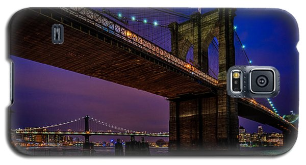Twilight At The Brooklyn Bridge Galaxy S5 Case