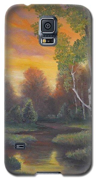 Twilight Fall  Galaxy S5 Case by Sorin Apostolescu