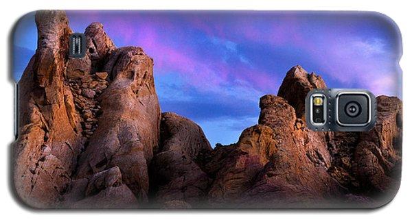 Twilight On White Dome Galaxy S5 Case