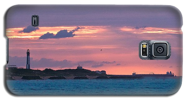 Twilight Over Cape Henry Galaxy S5 Case