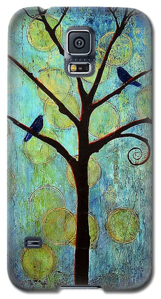 Raven Galaxy S5 Case - Twilight Tree Of Life by Blenda Studio