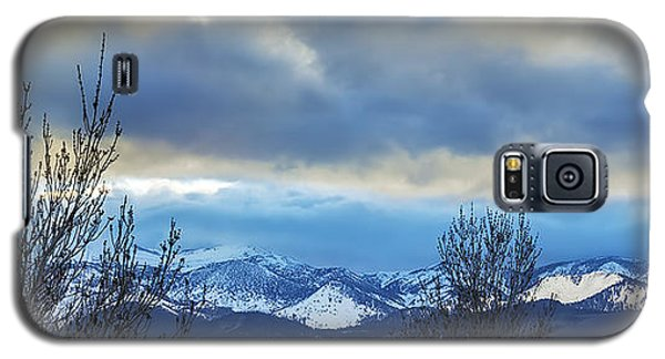 Galaxy S5 Case featuring the photograph Twilight's Sky by Nancy Marie Ricketts