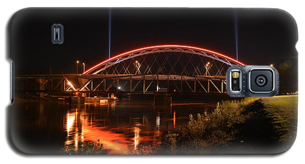 Twin Bridges At Night Galaxy S5 Case