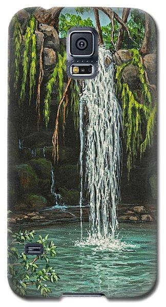 Twin Falls Galaxy S5 Case by Darice Machel McGuire