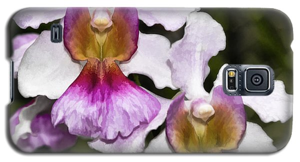 Twin Orchids Galaxy S5 Case