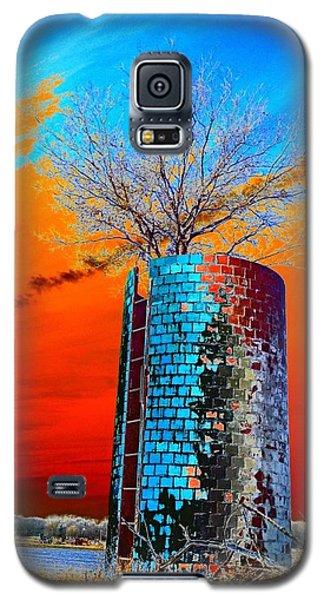 Twin Silos Galaxy S5 Case by Karen Newell