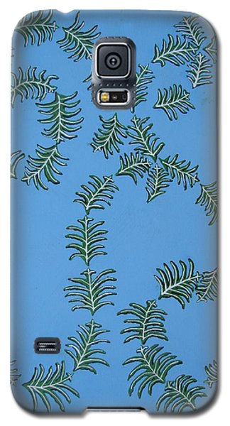 Twirling Leafs Galaxy S5 Case by Brady Harness