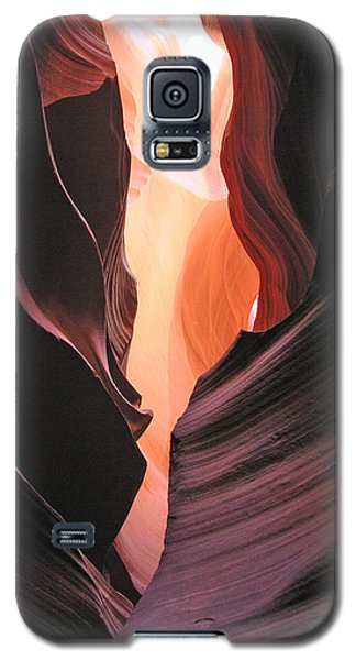 Galaxy S5 Case featuring the photograph Twisted Canyon by Marcia Socolik