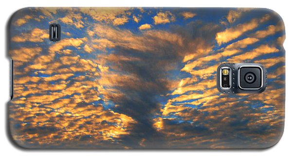 Galaxy S5 Case featuring the photograph Twisted Sunset by Janice Westerberg