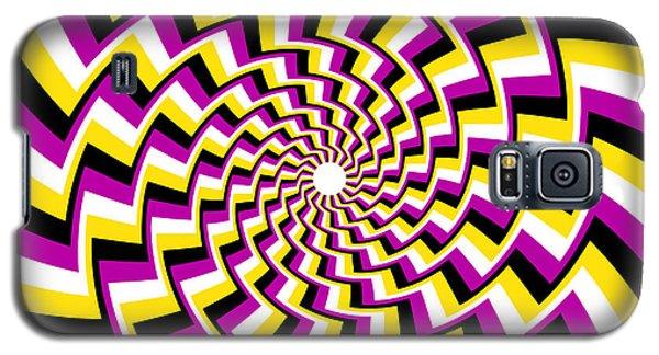 Twisting Spiral Galaxy S5 Case
