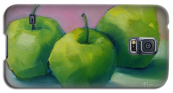 Two Apples And One Pear Galaxy S5 Case by Michelle Abrams