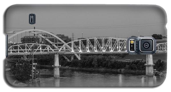 Galaxy S5 Case featuring the photograph Two Bridges by Robert Hebert