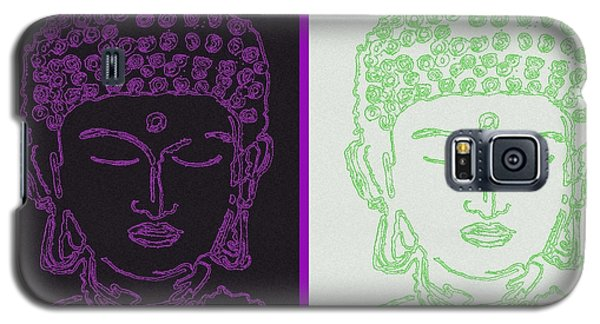 Two Buddhas Galaxy S5 Case