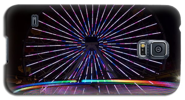 Two Carousels  Galaxy S5 Case by Gandz Photography